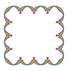 invitation border vector image vector image