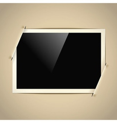 photoalbum frame vector image vector image