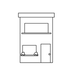 uncolored vector image vector image