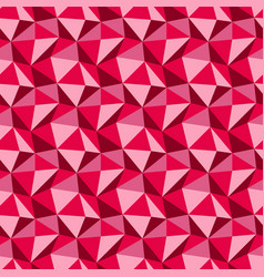 Low poly triangle pattern vector