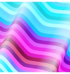 Colorful lines background vector image