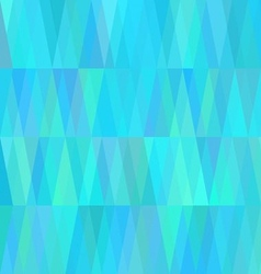 Geometric cold background in shades of sea water vector