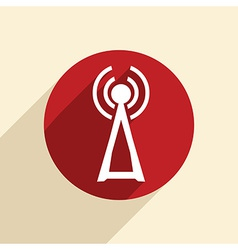 Tower of the wi fi vector