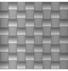Brushed metal geometric pattern vector image vector image