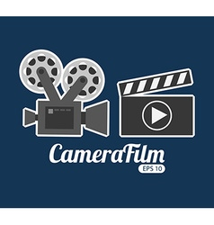 camera film design vector image vector image