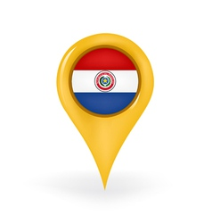 Location paraguay vector