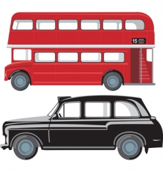 London public transport vector image