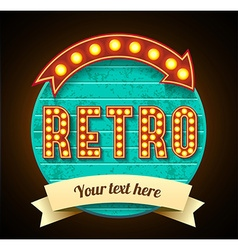 Retro vintage banner eps 10 high quality vector