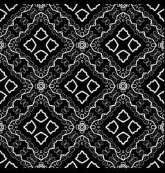 Seamless texture on black vector