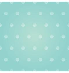Vintage pastel pink baby boy polka dots vector