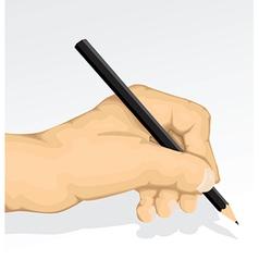 Hand sketching vector