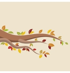 Autumn brunch vector