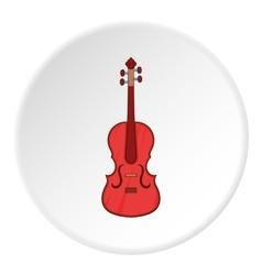 Cello icon cartoon style vector