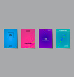 covers design set abstract minimal geometric vector image vector image