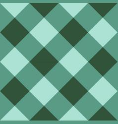 Green checkered diagonal seamless background vector