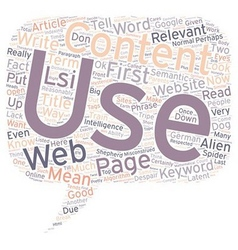 How to use relevance in your web content text vector