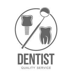 Dental logo vector