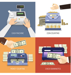 Bank design concept vector