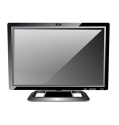 Lcd computer monitor vector