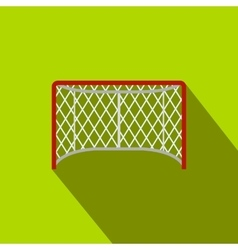 Hockey gates flat icon vector