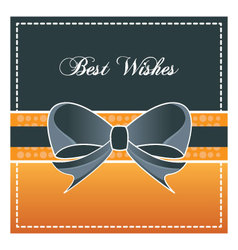 Best wishes design element vector