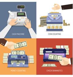Bank design concept vector
