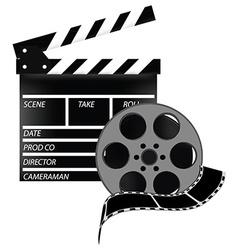Cinema set vector image vector image
