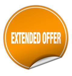 Extended offer vector