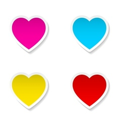 Heart frames vector image vector image