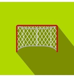 Hockey gates flat icon vector image