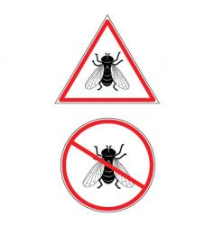 no fly's vector image vector image