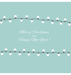 Abstract beauty merry christmas and new year vector