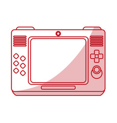 Game console design vector