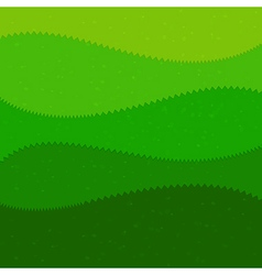 Green grass cartoon kids style background vector image vector image
