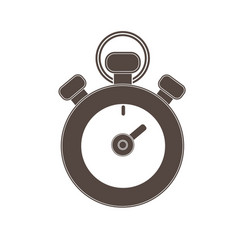stopwatch isolated icon vector image vector image