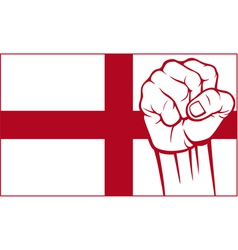 England fist vector