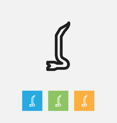 Of instrument symbol on vector