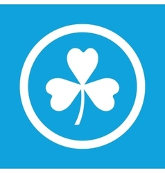 Clover sign icon vector image