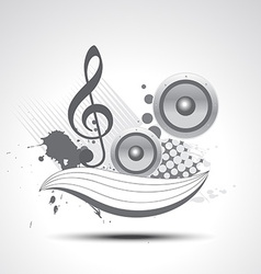 music art vector image vector image