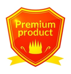 Retro premium product label vector image vector image