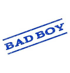 Bad boy watermark stamp vector