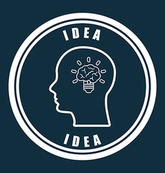 big idea vector image