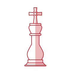 king chess piece vector image