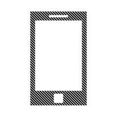 Phone sign on white vector