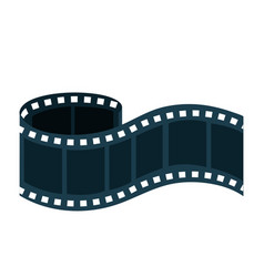 Tape record film icon vector