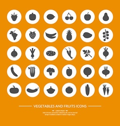 30 silhouette icons vector