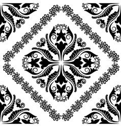 Baroque ornaments vector