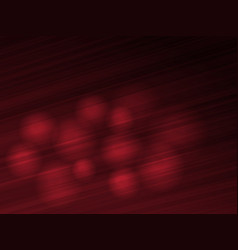 Abstract dark red background with spheres vector image vector image