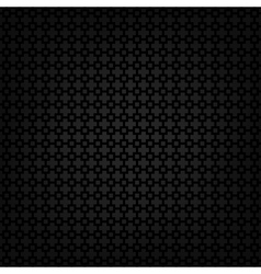 Black metallic texture template vector image