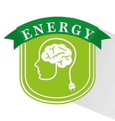 Energy ideas design vector